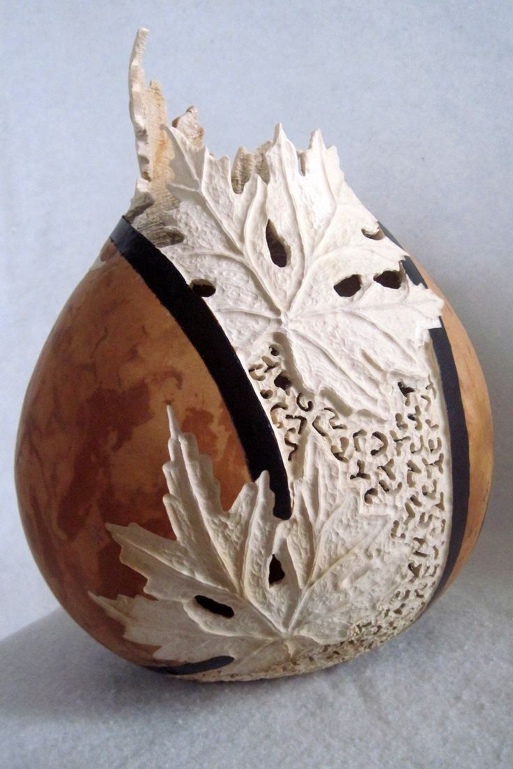 Gourd art by Joanna Helphrey                                                                                                                                                                                 More                                                                                                                                                                                 More