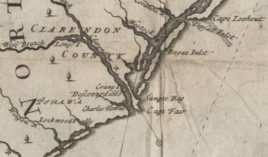On May 29, 1664, settlers from Barbados under John Vassall disembarked on the Cape Fear River. They established a settlement on its west bank and north of Town Creek, called Charles Town after King…