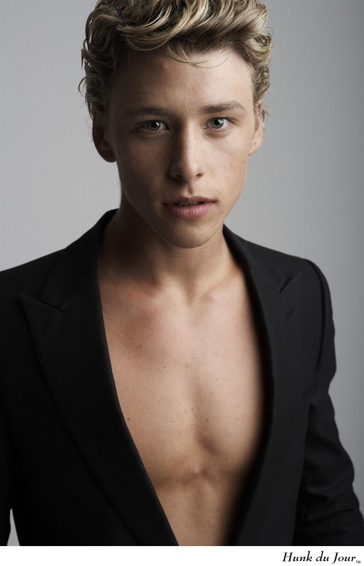 Mitch Hewer. I have a real thing for blondes.