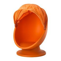 IKEA PS LÖMSK Swivel chair, orange, light orange - - - IKEA
