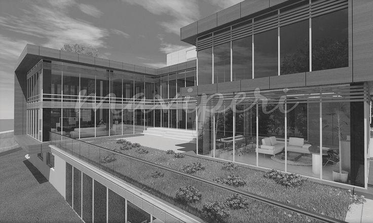 Proje düz ve kesin çizgilerin olduğu bir mimari yaklaşımla ele alınmıştır.Mekanlar bir iç avlu etrafında kurgulanmış ve salonun hacmi iki katlı olması sebebiyle geniş ve ferah tasarlanmıştır. Konutlar, Konut Tasarımı, Residence Tasarımı, Konut Projesi, Residence Projesi, Konut Mimari Projesi, Residence Mimari Projesi, maviperi mimarlık , ankara mimarlık, mimarlık ankara http://maviperimimarlik.com.tr