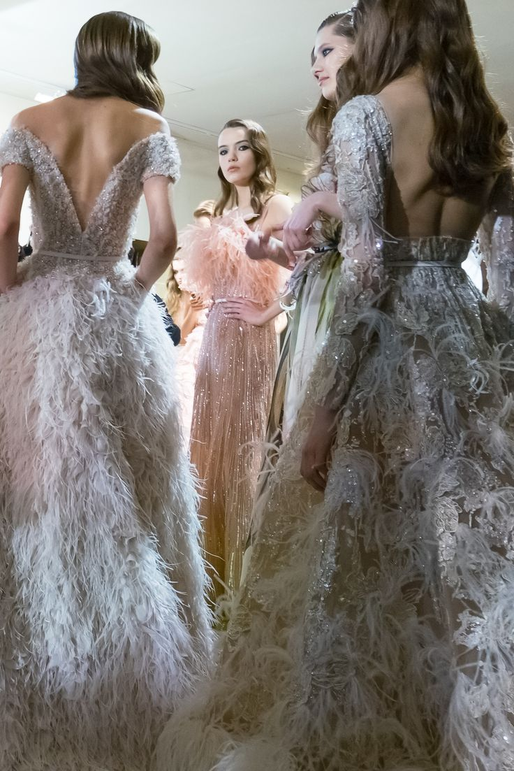 ELIE SAAB Backstage | Haute Couture Spring Summer 2015