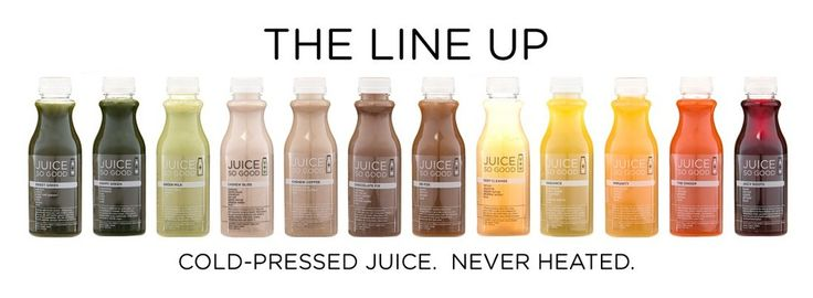 Cold Pressed Juice - Never Heated | JuiceSoGood.com