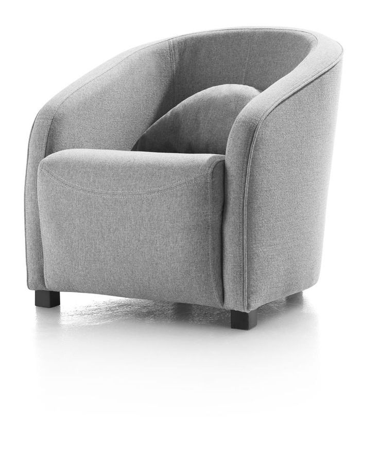 Chantal fauteuil in de stof icegrey