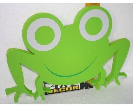 Żabka - Dekoracja Pokoju Dziecinnego, Przedszkola - ARQ - DECOR | Pracowania Dekoracji ARQ DECOR