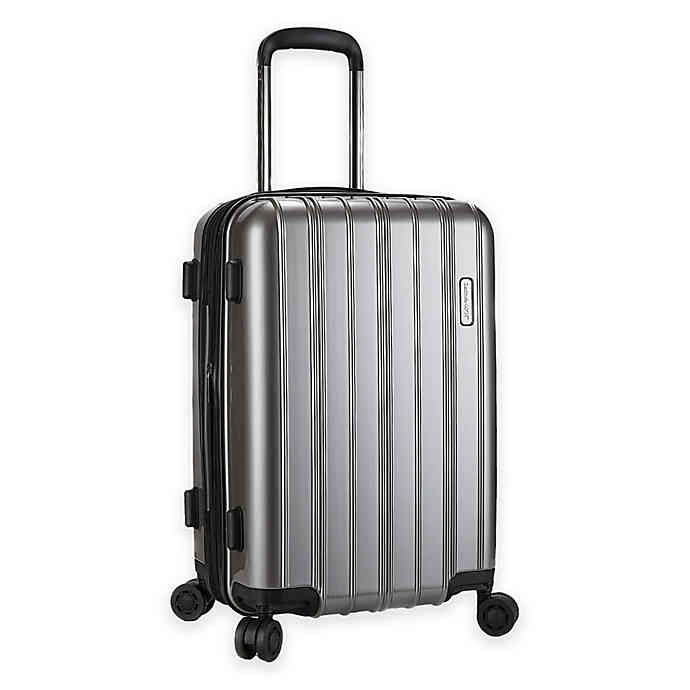 Latitude 40 N Ascent 20 5 Inch Hardside Spinner Carry On Luggage