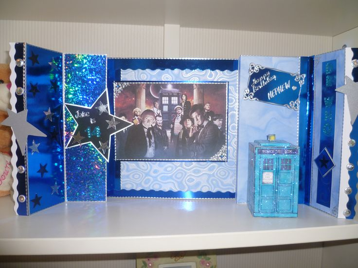 Dr Who Card Made June 13