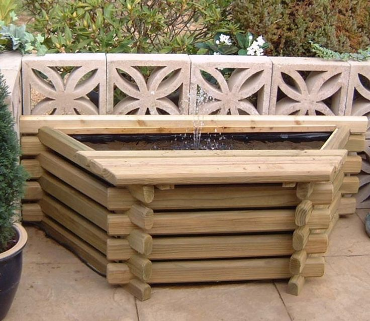 34 Best Images About Intalogs Norlogs Wooden Planters And