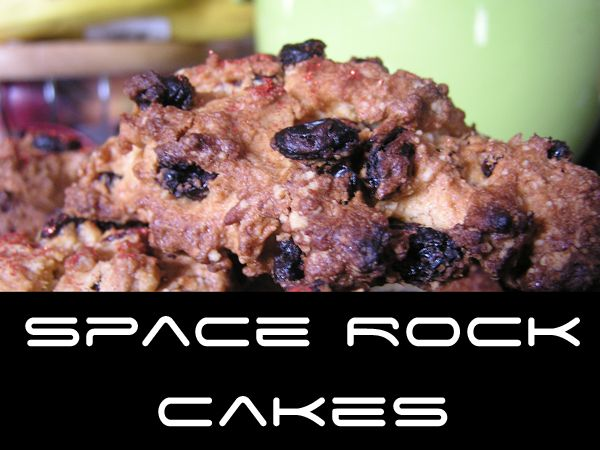 Space Rock Cakes - easy recipe to cook with your toddlers and preschoolers