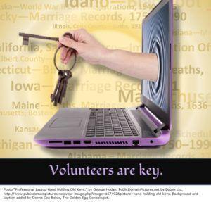 FamilySearch Indexing Volunteers - The Golden Egg Genealogist