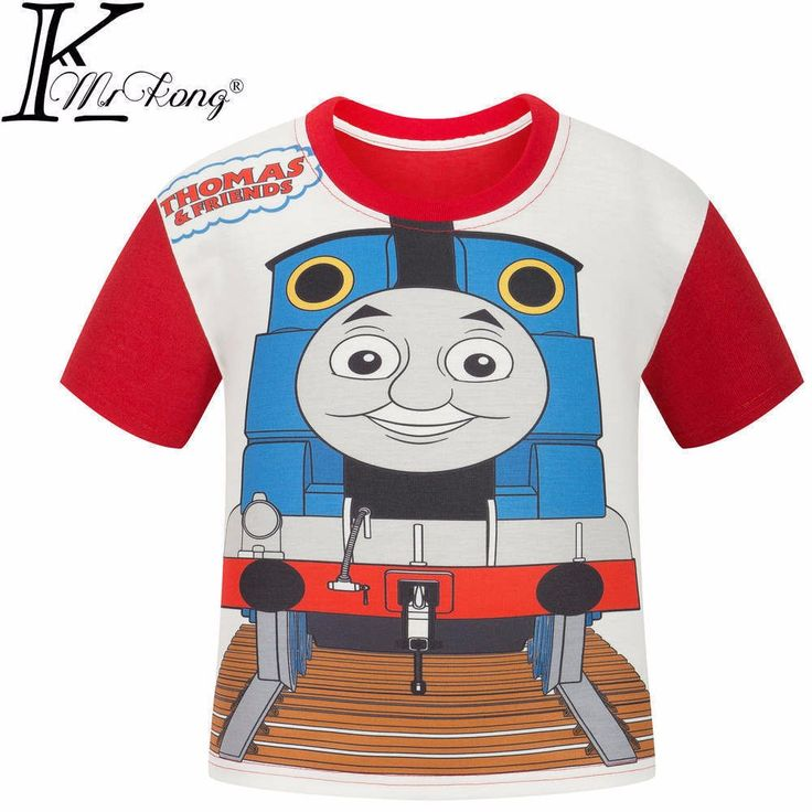>> Click to Buy << Kids 2017 jongens Zomer trein Cartoon jongens T-shirt Tops Tee kinderen kids fashion jongens t-shirt thomas en vrienden kleding  #Affiliate