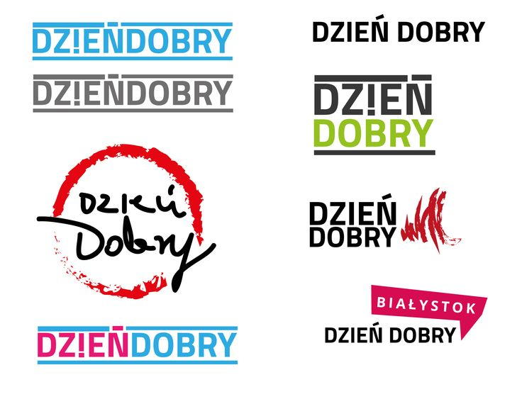 Dziendobry Bialystok logo concept's
