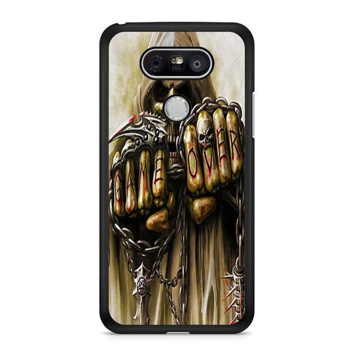 Skull Game Over LG G6 Case Dewantary