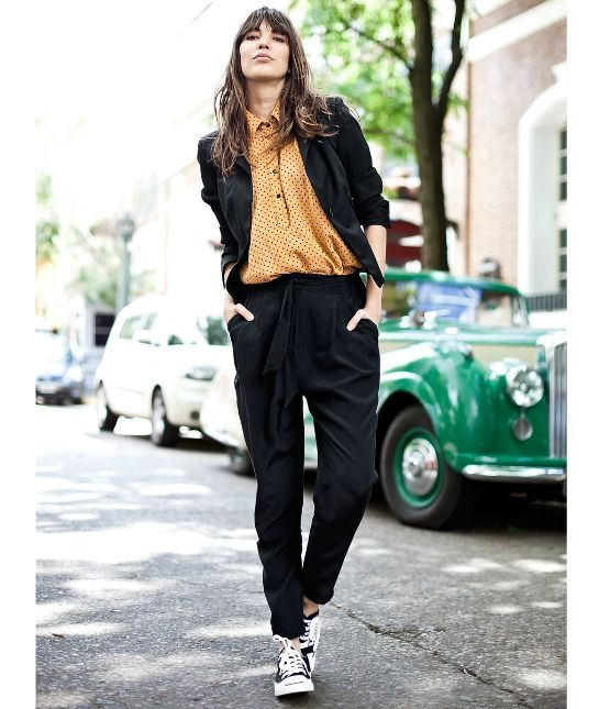 Habitually Chic Beautiful In Buenos Aires: Converse Outfits, Fashion Outfits And Girl Fashion