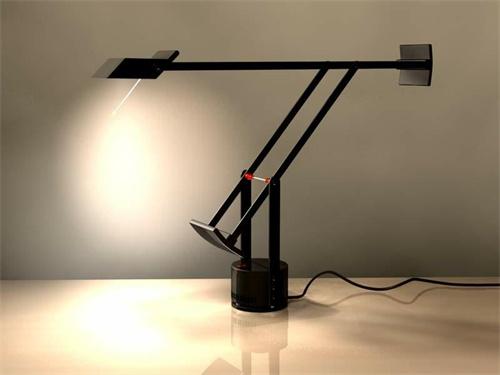 LAMPADA DA TAVOLO A LED TIZIO NERO - ARTEMIDE TIZIO TAVOLO NERO LED