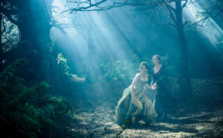 """""""Into the Woods,"""" Rob Marshall's Disney screen adaptation of the Stephen Sondheim-James Lapine musical, is a mash-up of Grimm fairy tales viewed through a post-Freudian prism."""