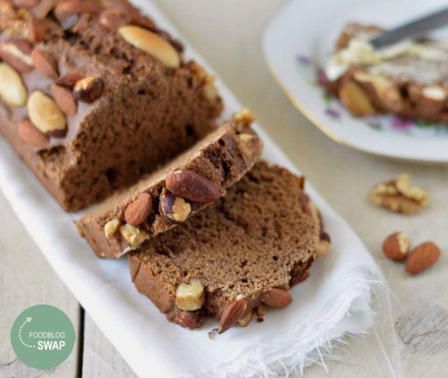 Het recept voor zelfgemaakte ontbijtkoek zonder geraffineerde suiker maar wel…