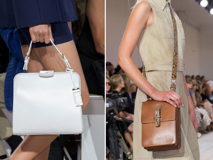 There's a reason Michael Kors has come to dominate the accessories market: His bags are good. The quality and craftsmanship is hard to deny.The frame bags for the season are polished and chic.