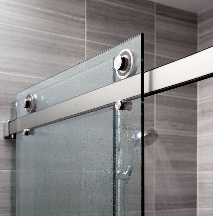 Frameless Sliding Shower Door Hardware Choice Image Doors Design