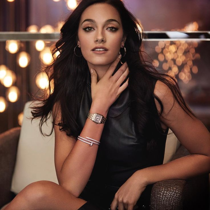 """Our Chic Pick: @orianasabatini slays in a black leather mini dress for @conceptoline accented by @cartier jewelry styled by @maxandfredla lensed by @frankiebatista & makeup by @belusaenz Oriana Sabatini (@orianasabatini) on Instagram: """" @cartier #pantheredecartier"""""""