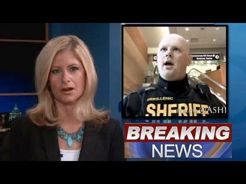 Sheriff Protects First Amendment & Becomes Internet Star.  AMEN!!!