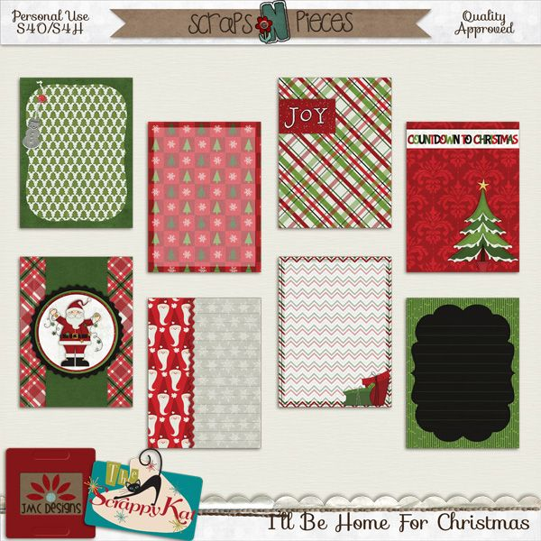 I'll Be Home for Christmas Collaboration by JMC Designs and The Scrappy Kat available here http://bit.ly/1OxfeX7