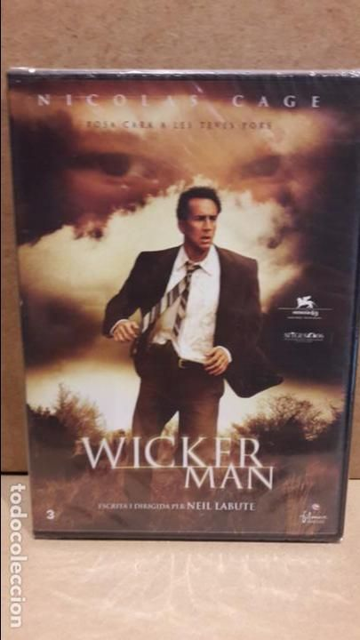 WICKER MAN. POSA CARA A LES TEVES PORS. NICOLAS CAGE. CINEMA EN CATALÀ. DVD - PRECINTADO.
