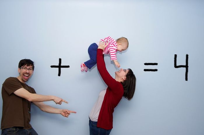 The Math The 18 Most Hilarious And Creative Ways To Announce A Pregnancy • Page 3 of 5 • BoredBug