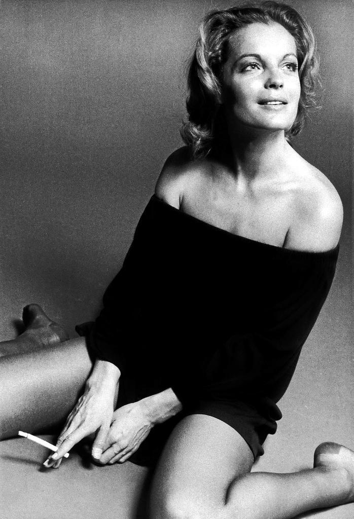 Romy Schneider 1972 (photo: Eva Sereny)
