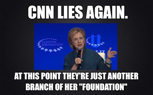 Embedded image....SO TRUE.....ALL OF THE MAIN STREAM MEDIA ARE DIE-HARD LIBERALS.....AND THEY WILL DO ANYTHING AND I MEAN ANYTHING TO HELP CROOKED HILLARY GET ELECTED.....I DON'T WATCH, ABC,NBC,CBS,CNN, MSNBC OR ANY THE THEM.......IT'S LIKE 8 AGAINST ONE......NOT FAIR AT ALL......THEIR ALL LIBERALS WHO LOVE THINGS TO GO THIER WAY OR NO WAY........GET IT,?......I WATCH FOX NEWS TO GET THE REAL TRUTH IN NEWS...GET IT NOW?