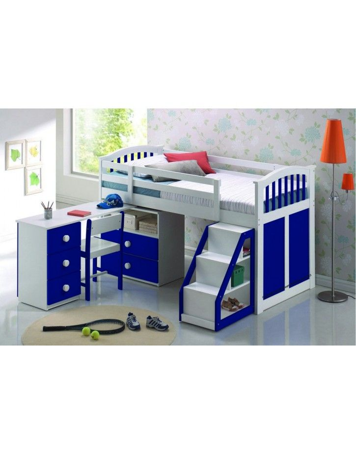 Charmant Kipling Mid Sleeper U2013 Blue Love The Steps. Find This Pin And More On  Augustus Kids Beds ...