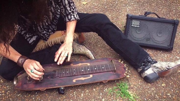 SKATEBOARD SLIDE GUITAR!  |  Performed by Justin Johnson