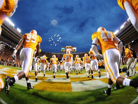University of Tennessee - Vols Football Photographic Print from AllPosters.com