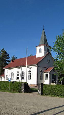 Kauhajärvi church, Kauhajoki Finland.