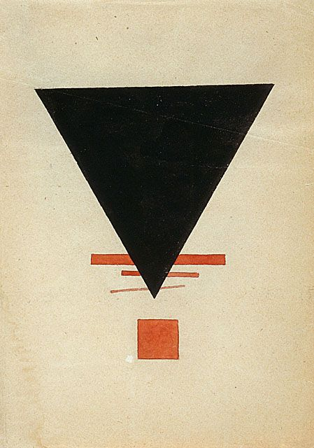 Ilya Chashnik - Suprematism, 1920