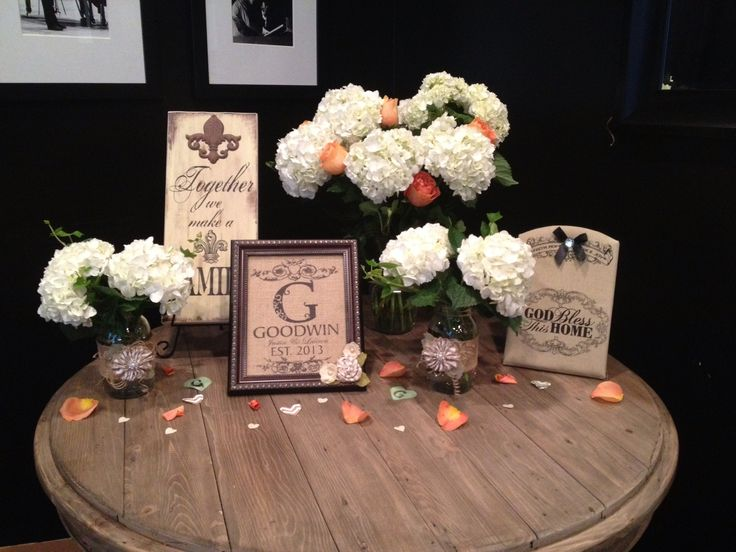 Rehearsal dinner decorations ideas
