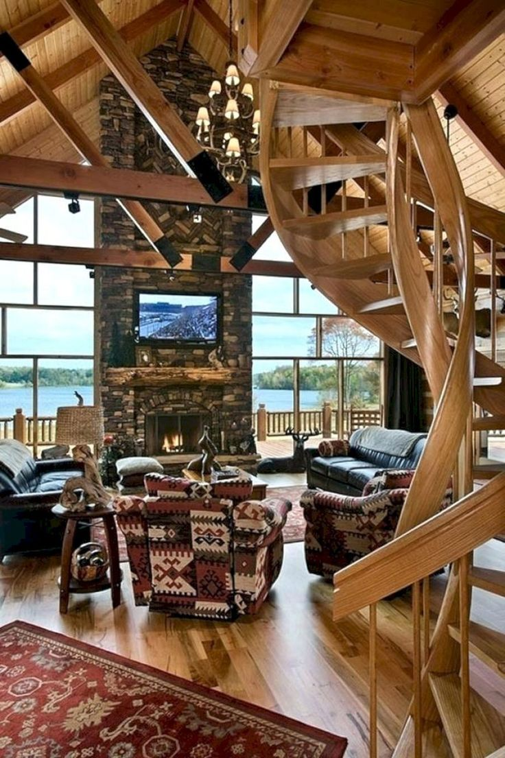 Top 10+ Small Log Cabin Ideas With Awesome Decoration