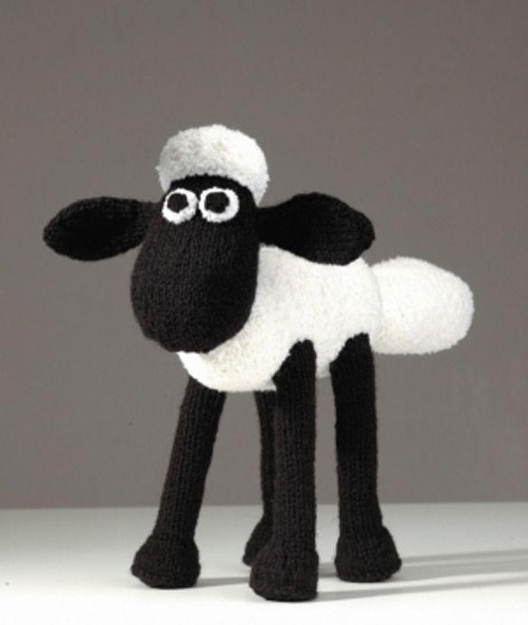 CROCHET - SHEEP / MOUTON / SCHAAP - Shaun the Sheep (crochet) by Linda Smith | style2deco.com