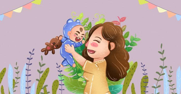 ธ มม อถ อจ บทารกการ ต น จ บ อ มล กน อย ความเป นพ อ ความร ก การด แล แม ทารก แม ภาพประกอบเด ก ทารก แม ความร ก