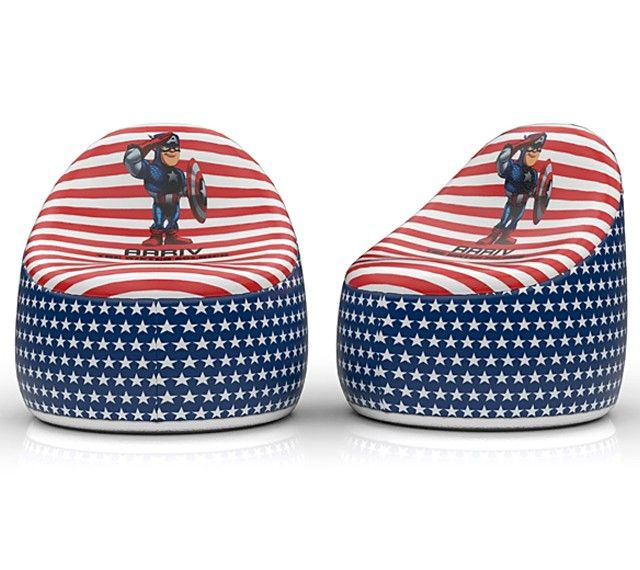 Buy Captain America Kids Bean Bag online at BabyOodles.com