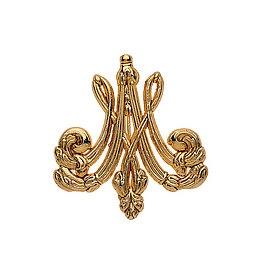 Marie Antoinette monogrammed brooch