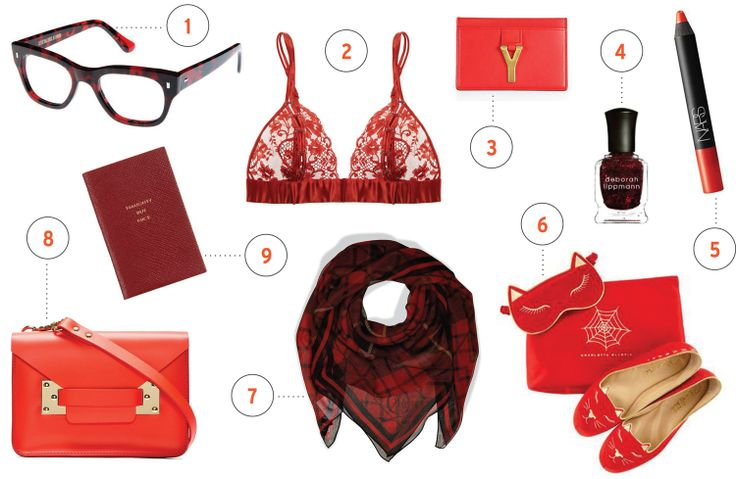 The season for red accessories on tailormadetomboy.com