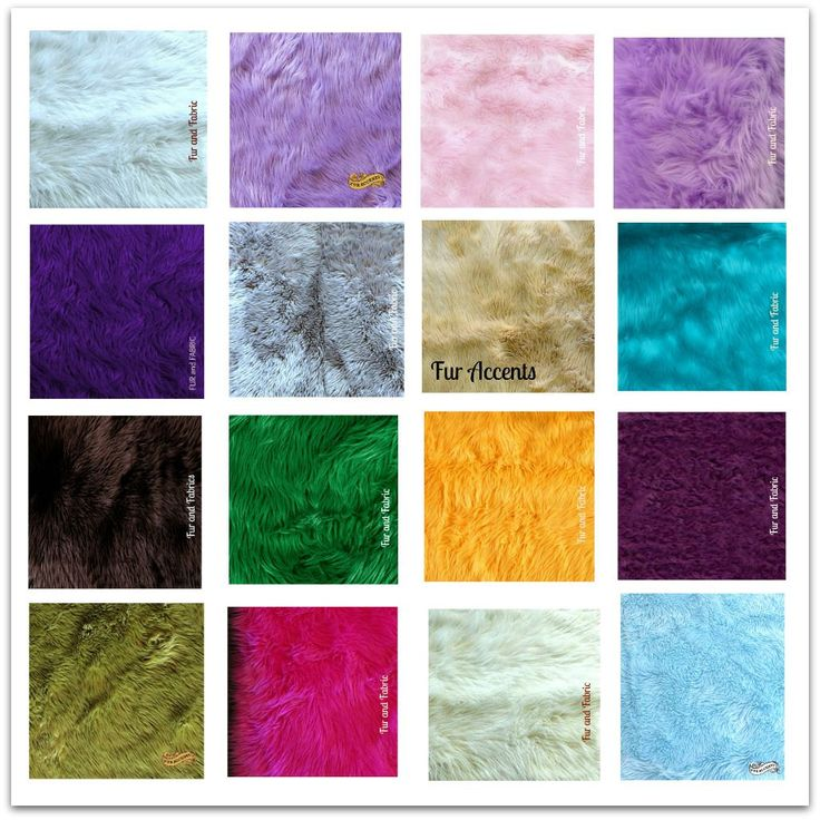 Shag Carpet Large Sheepskin Rug Fake Fur Living Room by FurAccents