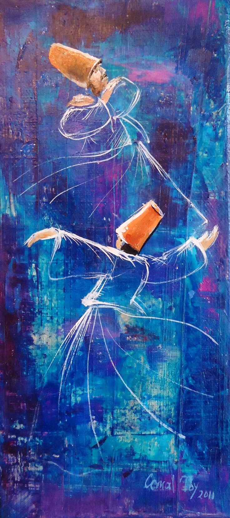 #cemaltoy #art #dervishes