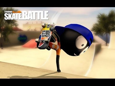 Stickman Skate Battle Gameplay free games for android phone 2017 Stickman Skate Battle Gameplay free games for android phone 2017  Pack your skateboard and join the ultimate Stickman Skate Battle multiplayer PVP experience. Battle with your friends and all people around the world in 1vs1 matches in astonishing beautiful hand designed skate parks. Perform spectacular tricks and combinations trying to beat your opponent to get his coins and get a chance to participate in the best high stake…