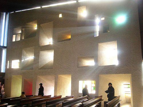 Son et Lumière :: 프랑스 롱샹 성당 (Notre-Dame du Haut, Romchamp)