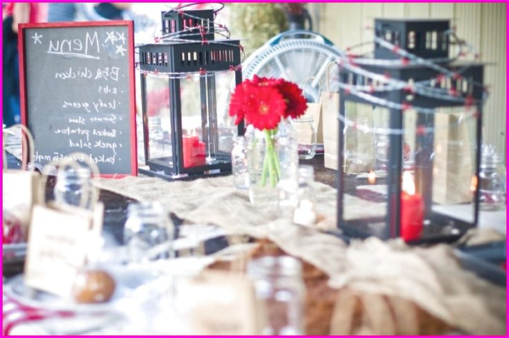 Purple Wedding Reception Table Ideas