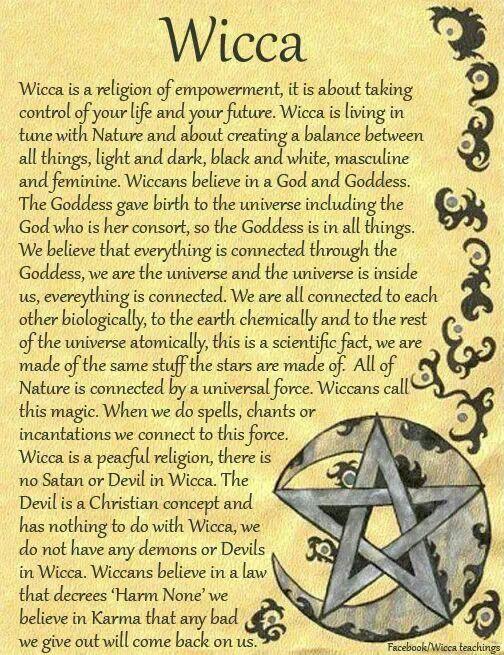 Wicca religion