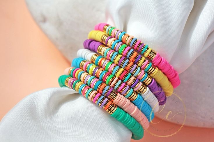 Details about  /Wholesale 4 PCS Stone Chip Adjustable Beaded Handmade Anklet 4 Bright COLORS