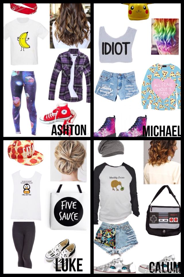 5sos outfits for girls! :D
